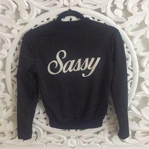 """Sassy"" Bomber Jacket"